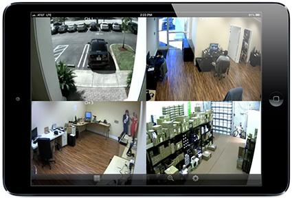 videosurveillance ipad